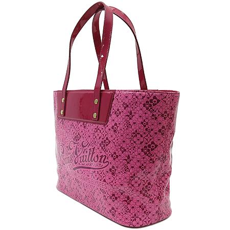 Louis Vuitton(루이비통) M93160 코스믹블라섬 핑크 페이던트 트리밍 쇼퍼 숄더백[무라카미다카시 한정판] 이미지3 - 고이비토 중고명품