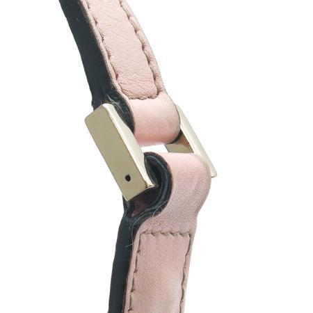 Gucci(구찌) 145750 GG 로고 핑크 레더 트리밍 파우치 숄더백 이미지3 - 고이비토 중고명품