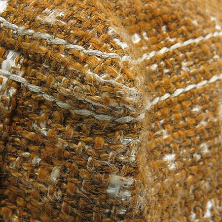 Prada(프라다) BR4657 옐로우 트위드 금장로고 체인 플랩 숄더백