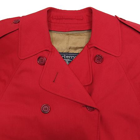 Burberry(버버리) 레드 컬러 트렌치 코트(벨트 SET) 이미지2 - 고이비토 중고명품