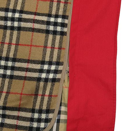 Burberry(버버리) 레드 컬러 트렌치 코트(벨트 SET) 이미지4 - 고이비토 중고명품