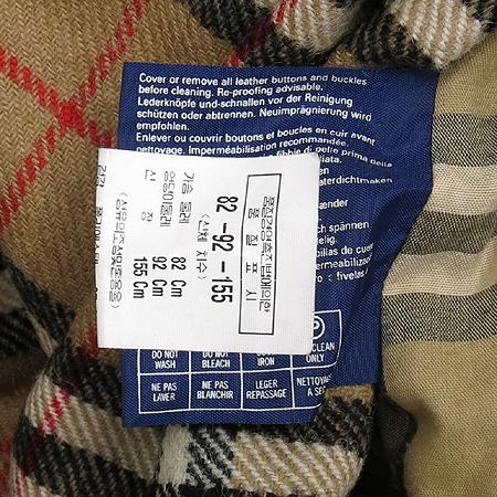 Burberry(버버리) 레드 컬러 트렌치 코트(벨트 SET) 이미지5 - 고이비토 중고명품
