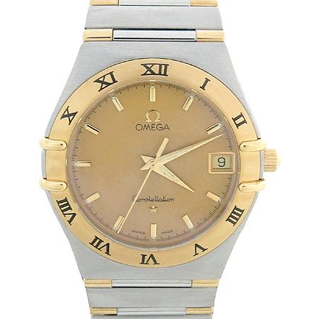 Omega(오메가) 1312.10 18K 콤비 하프바 쿼츠 CONSTELLATION (컨스트레이션) 남성용 시계