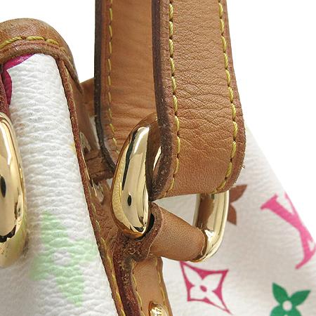 Louis Vuitton(루이비통) M42229 모노그램 멀티화이트 캔버스 쁘띠노에 숄더백 [강남본점] 이미지4 - 고이비토 중고명품