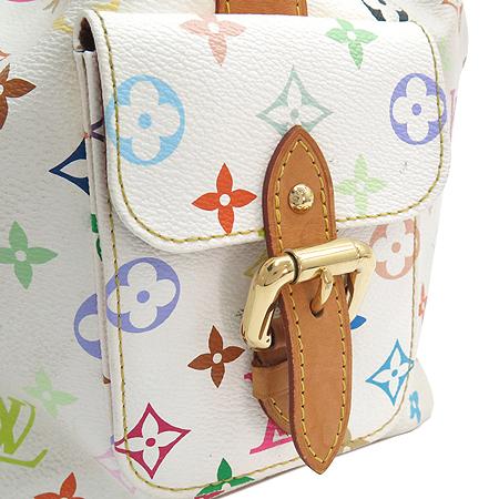 Louis Vuitton(루이비통) M42229 모노그램 멀티화이트 캔버스 쁘띠노에 숄더백 [강남본점] 이미지5 - 고이비토 중고명품