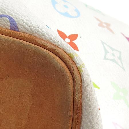 Louis Vuitton(루이비통) M42229 모노그램 멀티화이트 캔버스 쁘띠노에 숄더백 [강남본점] 이미지6 - 고이비토 중고명품