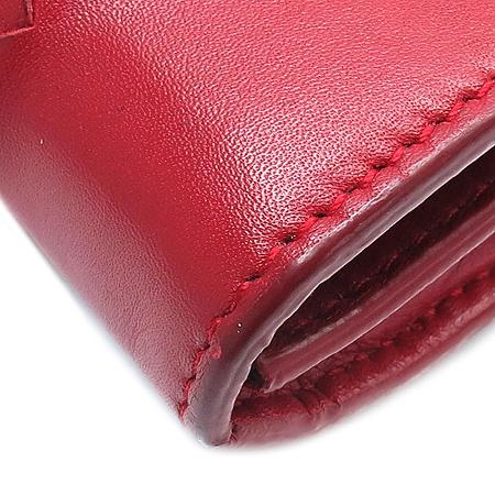 BOTTEGAVENETA (보테가베네타) 150509  레드 컬러 위빙 장지갑
