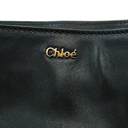 Chloe(끌로에) 3S0877-233 DALRA(달라) 금장 버클 장식 블랙 레더 2WAY