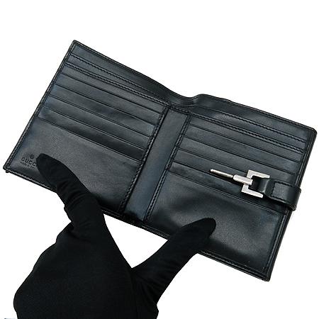 Gucci(구찌) 035 4463 GG 로고 패브릭 반지갑