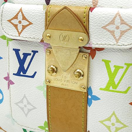 Louis Vuitton(루이비통) M92643 모노그램 멀티 컬러 화이트 스피디 30 토트백 [강남본점] 이미지3 - 고이비토 중고명품