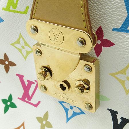Louis Vuitton(루이비통) M92643 모노그램 멀티 컬러 화이트 스피디 30 토트백 [강남본점] 이미지4 - 고이비토 중고명품
