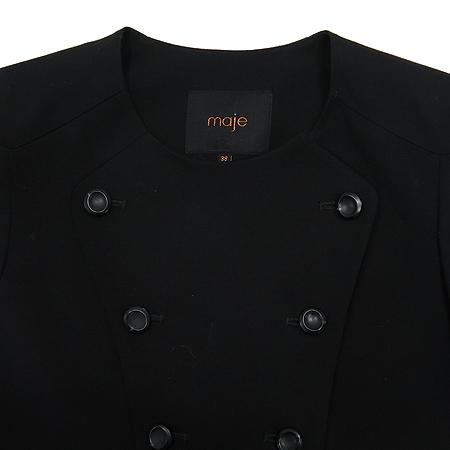 MAJE(마쥬) 블랙컬러 더블버튼 코트