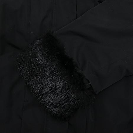 MAJE(마쥬) 블랙컬러 오리털 점퍼 (오리솜털 70% / 깃털 30% / 배색:머스카렛)