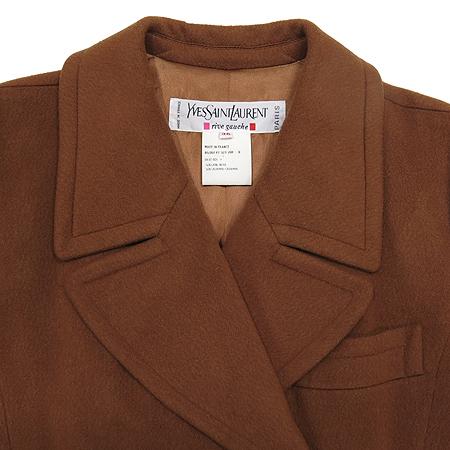 YSL(입생로랑) 캐시미어혼방 더블버튼 코트