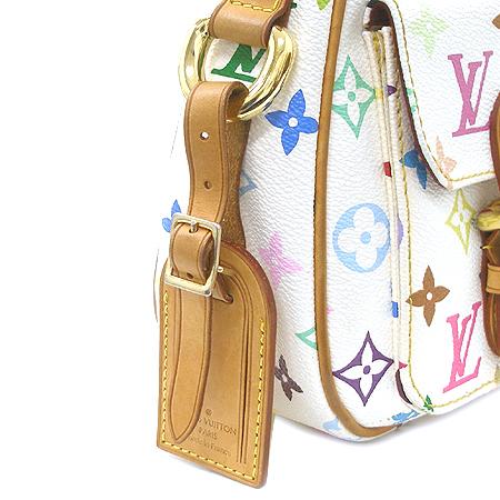 Louis Vuitton(루이비통) M40053 모노그램 멀티 화이트 롯지 PM 숄더백