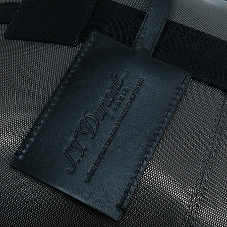 Dupont(듀퐁) CG78000 그레이 컬러 패브릭 레더 혼방 남성용 토트백 이미지4 - 고이비토 중고명품