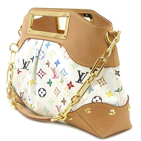 Louis Vuitton(루이비통) M40255 모노그램 캔버스 멀티 컬러 화이트 주디 MM 2WAY [강남본점]