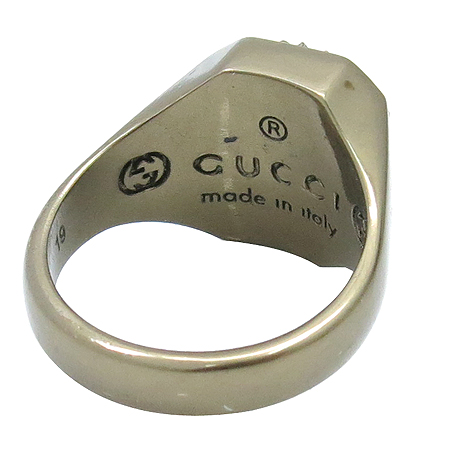 Gucci(구찌) 구찌 로고 장식 반지 [압구정매장]