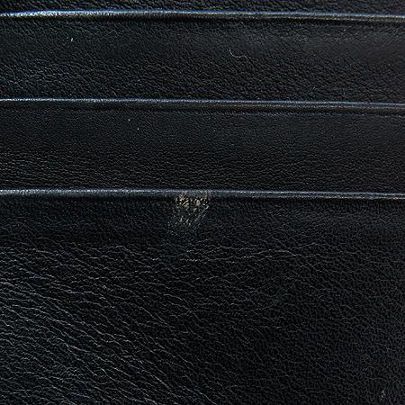 Tod's(토즈) 페이던트 블랙 은장로고 2단 반지갑 [강남본점]