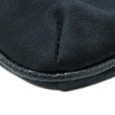 Gucci(구찌) 153020 블랙 금장 체인 패브릭 숄더백