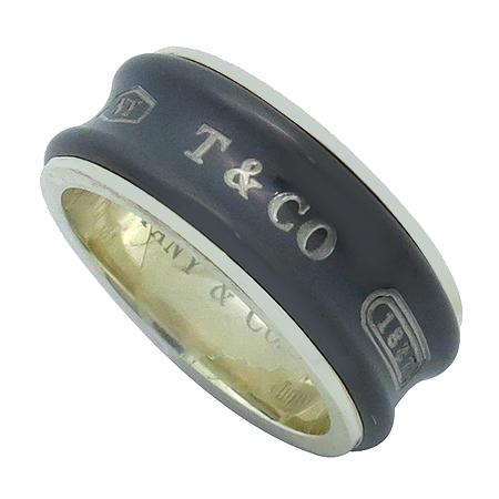 Tiffany(티파니) 25923634 미드나잇 네로우 1837 실버 925 TITANIUM(티타늄) 혼합 반지-14호
