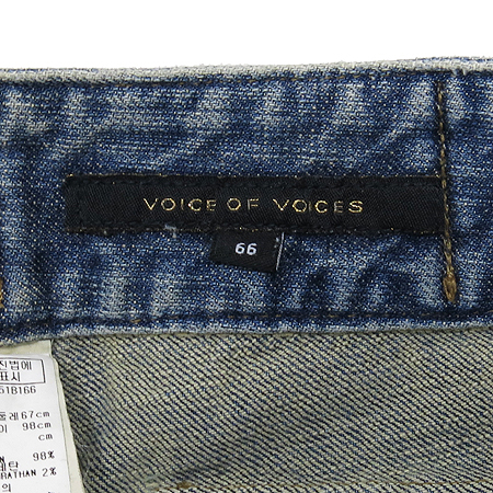VOV(보브) 데님 미니스커트