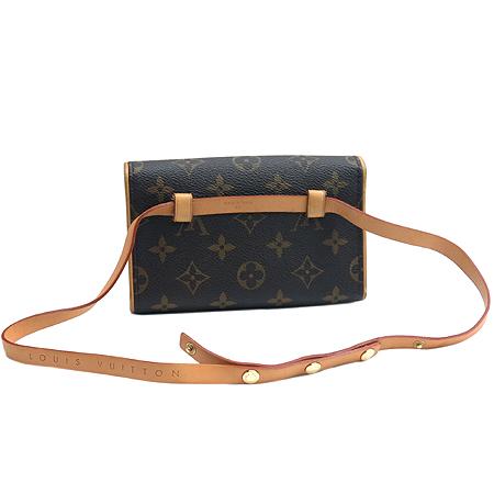 Louis Vuitton(루이비통) M51855 모노그램 캔버스 포쉐트 플로렌틴 파우치 + M67303 힙색 스트랩