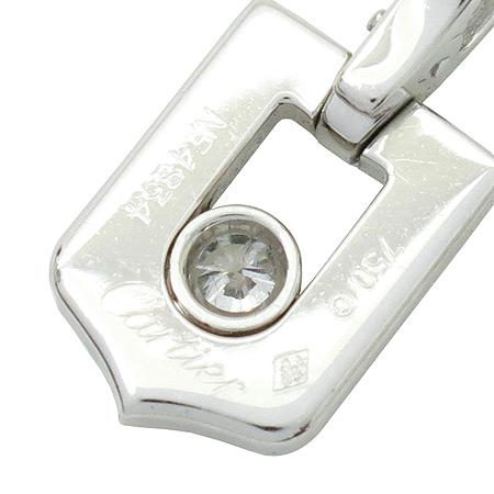Cartier(까르띠에) 18K(750) C모티브 1포인트 다이아 화이트 골드 펜던트 [강남본점] 이미지5 - 고이비토 중고명품