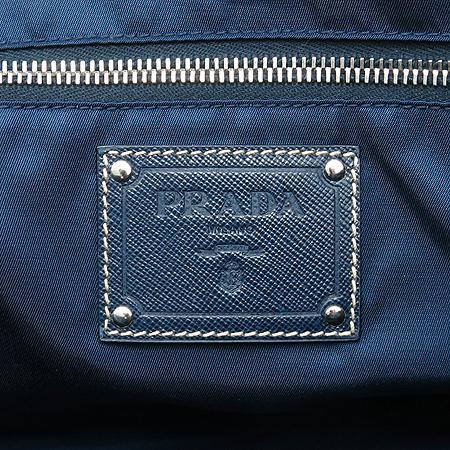 Prada(프라다) BR3925 은장 로고 장식 패브릭 쇼퍼 숄더백
