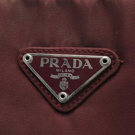 Prada(프라다) B10071 로고 장식 패브릭 숄더백