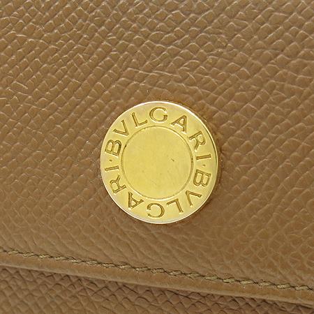 Bvlgari(불가리) 금장 로고 장식 브라운 레더 6홀 키홀더 [강남본점] 이미지2 - 고이비토 중고명품