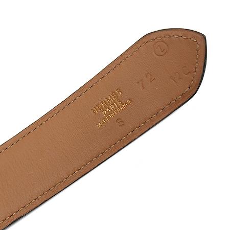 Hermes(에르메스) 금장 버클 블랙 레더 여성용 벨트