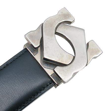 Cartier(까르띠에) 은장 버클 양면 벨트