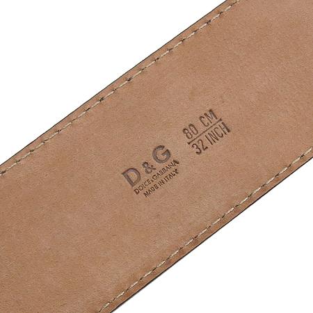 D&G(돌체&가바나) 금장 버클 페이던트 여성용 벨트 이미지5 - 고이비토 중고명품