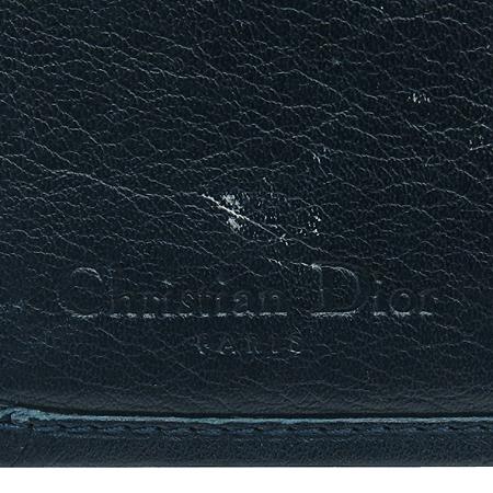 Dior(크리스챤디올) 은장 로고 장식 자가드 장지갑 [강남본점] 이미지7 - 고이비토 중고명품