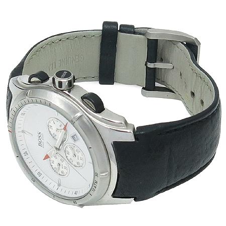Hugo Boss(휴고보스) 1512153 LUX HOMME 크로노그래프 가죽 밴드 남성용 시계