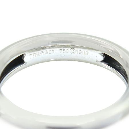 Tiffany(티파니) 18K(750) 화이트 골드 + 옐로우 골드 콤비 하트 장식 반지 - 9호 [강남본점] 이미지2 - 고이비토 중고명품