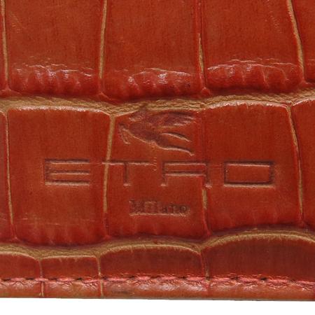 Etro(에트로) 02463 페이즐리 크로커다일 패턴 3단 반지갑 [인천점]