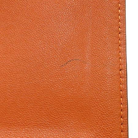 Hermes(에르메스) 도곤 컴팩트 오렌지 레더 다용도 지갑 이미지4 - 고이비토 중고명품
