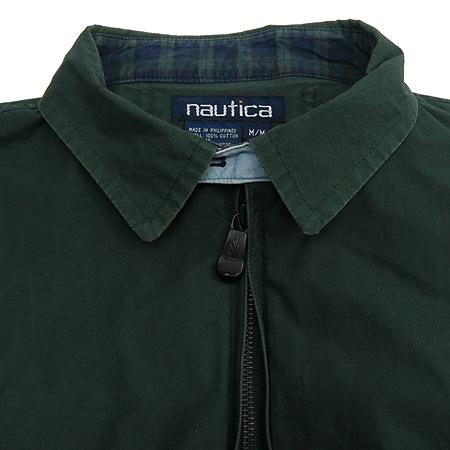 NAUTICA(노티카) 다크 그린 컬러 집업 점퍼