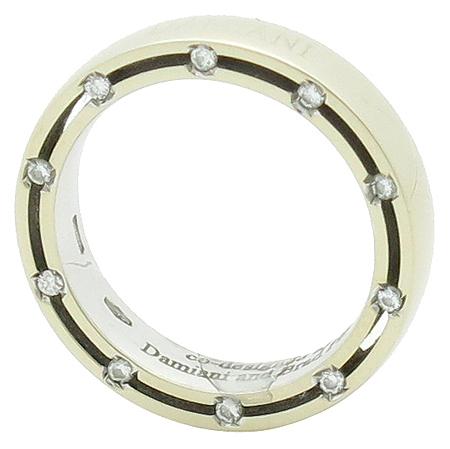 DAMIANI(다미아니) 18K(750) 화이트골드 디사이드 20포인트 다이아 여성용 반지 - 8호