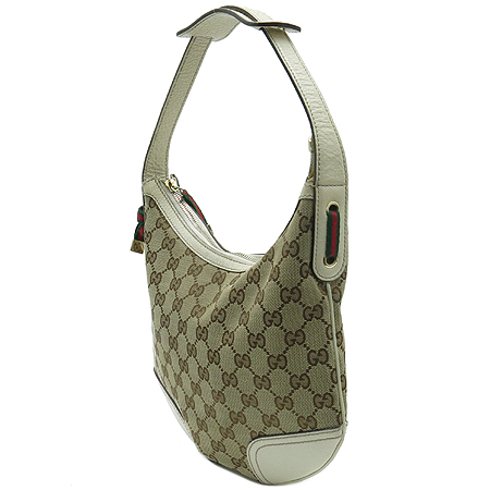 Gucci(구찌) 162895 GG 로고 자가드 호보 숄더백