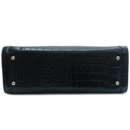 DKNY(도나카란) DAM3AA168 블랙 크로커다일 패턴 토트백