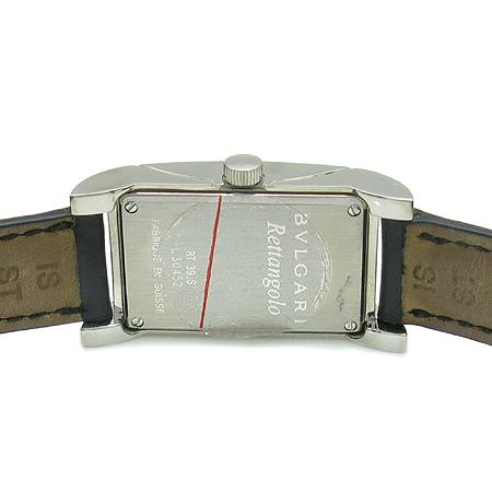 Bvlgari(불가리) RT39S RETTANGOLO (레탕골로) 가죽 밴드 여성용 시계