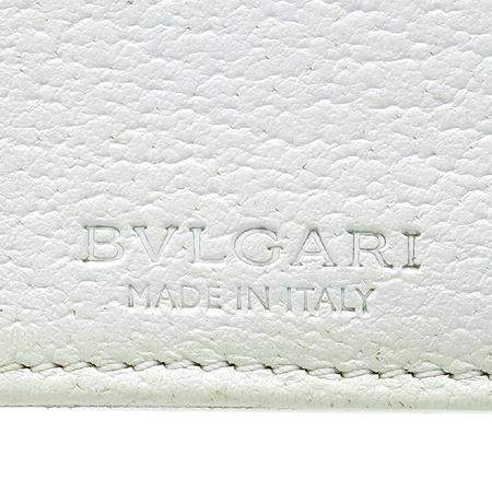 Bvlgari(불가리) 로고 패턴 패브릭 반지갑 [강남본점] 이미지5 - 고이비토 중고명품