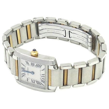 Cartier(까르띠에) W51007Q4 탱크 골드 콤비 S 사이즈 여성용 시계 이미지2 - 고이비토 중고명품