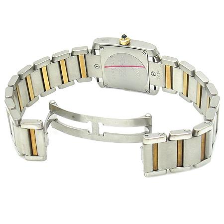Cartier(까르띠에) W51007Q4 탱크 골드 콤비 S 사이즈 여성용 시계 이미지3 - 고이비토 중고명품