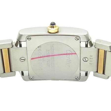 Cartier(까르띠에) W51007Q4 탱크 골드 콤비 S 사이즈 여성용 시계