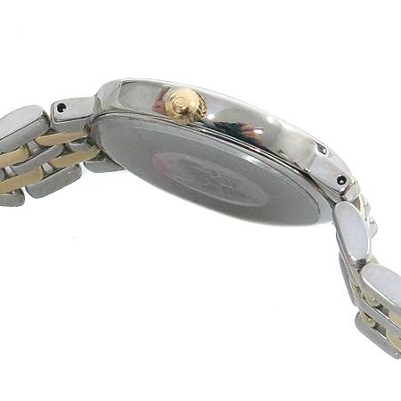 Omega(오메가) 18K 도금 콤비 De Ville(드빌) 여성용 시계