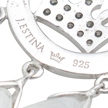 J.ESTINA(제이에스티나) 925 (실버) 티아라 귀걸이
